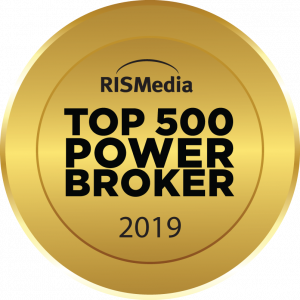 RISMedia Power Broker Top 500 2019 seal