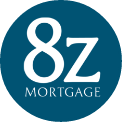 8z Mortgage Logo WHITE